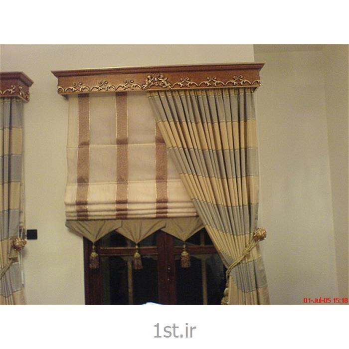 عکس لوازم تزئینی پردهقاب و کتیبه پرده