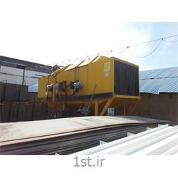 دستگاه شات بلاست تونلی مقاطع ( shot blast )
