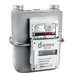 عکس کنتور گازکنتور گاز دیافراگمی با تصحیح کننده دما و فشار ETC & RF