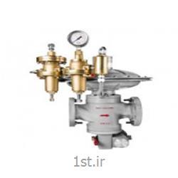 عکس رگولاتور (رگلاتور) فشار ( تنظیم کننده فشار )رگولاتور گاز صنعتی همراه شات آف مدل GS.77.22