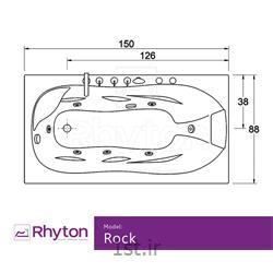 جکوزی خانگی ریتون مدل راک 17070
