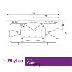 جکوزی خانگی ریتون مدل گاما ۱۶۰۸۰