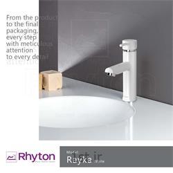 عکس شیرآلات آشپزخانهشیرآلات ریتون مدل رایکا - رنگ سفید