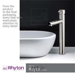 شیرآلات ریتون مدل رایکا  - کروم