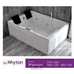 عکس وان و جکوزیجکوزی خانگی ریتون مدل مارون ۱۶۰۱۲۰