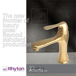 عکس شیرآلات روشوییشیرآلات ریتون مدل آتلانتا - طلا براق