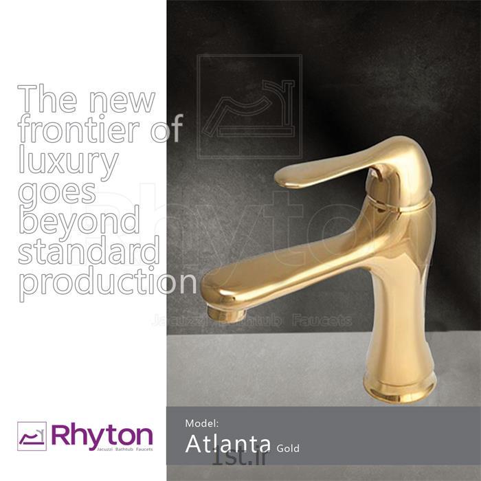 شیرآلات ریتون مدل آتلانتا - طلا براق