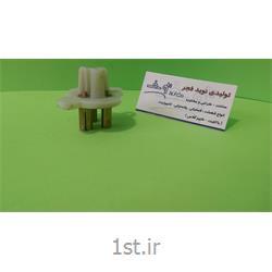 عکس سایر محصولات پلاستیکیقطعه سوکت پلاستیکی پلی آمید (Polyamide)