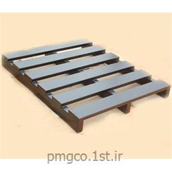 عکس پالت چوبیپالت فلزی  با قوطی - نبشی - ناودانی