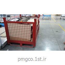 عکس تجهیزات حمل و نگهداری بارباکس پالت فلزی 100*100*80