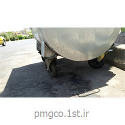 سطل آشغال شهری 1100 لیتری فلزی