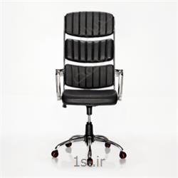 عکس صندلی اداریصندلی گردان مدیریت چرم مدیران صنعت مدل  m700