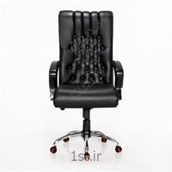 عکس صندلی اداریصندلی مدیریت چرمی مدیران صنعت مدل s2017