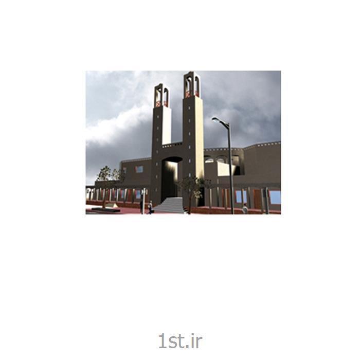 طراحی معماری و دکوراسیون داخلی شبستان مصلا