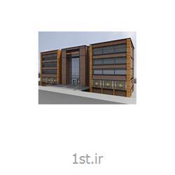طراحی معماری و دکوراسیون داخلی اتاق کارمندان کلینیک