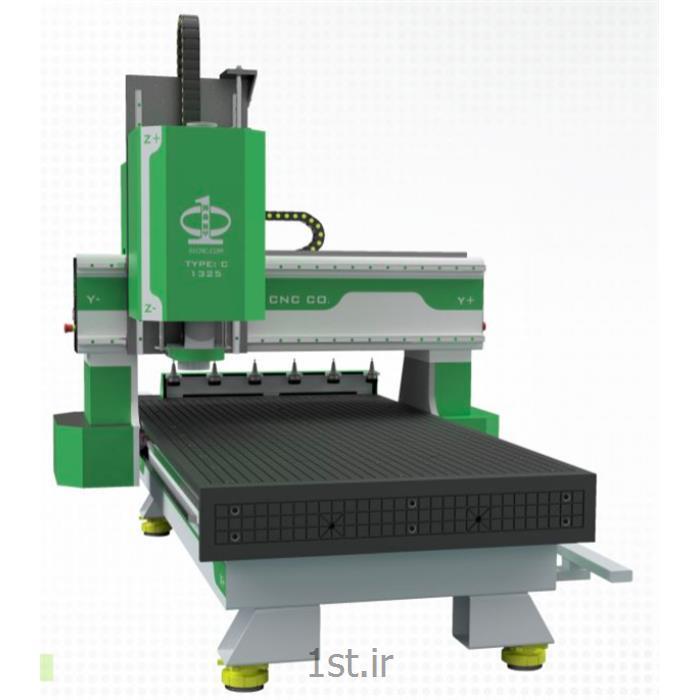 عکس ماشین آلات فرزکاریماشین کنترل عددی CNC تیپ C مدل 1325