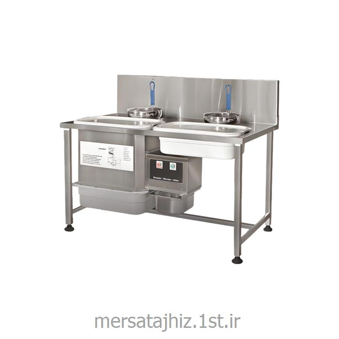 دستگاه بریدینگ استیل صنعتی