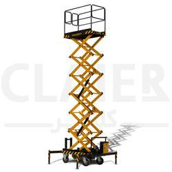 بالابر 8 متری آکاردئونی CLAIER
