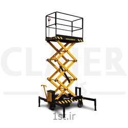 عکس سایر ابزارهای بلند کنندهبالابر 5 متری آکاردئونی CLAIER