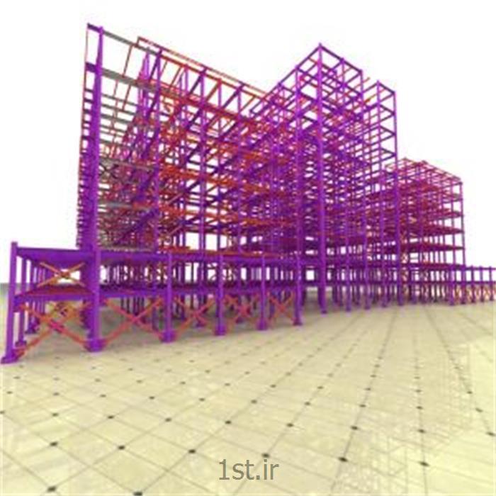 عکس سایر خدمات ساخت و ساز و مشاوره املاکتهیه نقشه های کارگاهی با نرم افزار XSTEEL