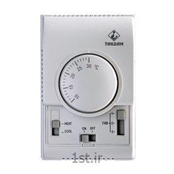عکس قطعات و تجهیزات سرمایشی، گرمایشی و تهویه مطبوعترموستات اتاقی با سنسور دیسکی گازی TCR500