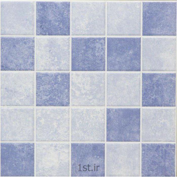 عکس کاشیکاشی طرح سروش آبی آویژه 25*25