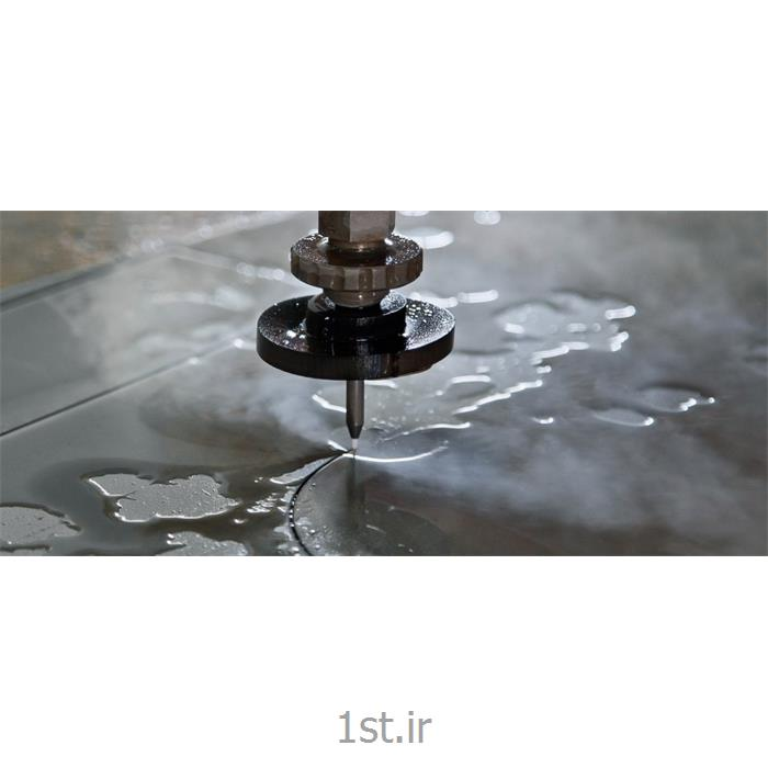 عکس خدمات پردازش تجهیزات صنعتی عمومیدستگاه CNC برش آب (واترجت)