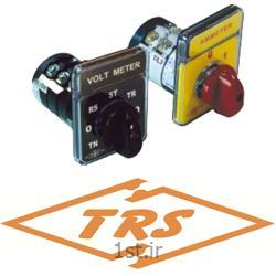 کلید گردان 16A با درجه حفاظت IP40 سه پل، دو دور