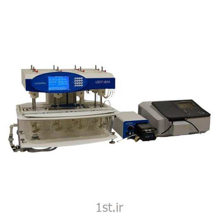 عکس تجهیزات تست کردن ( آزمایش )دستگاه اتوماتیک تست انحلال قرص به همراه اسپکتروفتومتر - Automated Dissolution Tester UV System