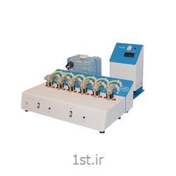 عکس تجهیزات تست کردن ( آزمایش )دستگاه آزمون نفوذ پذیری پماد و کرم Transdermal Diffusion Cell