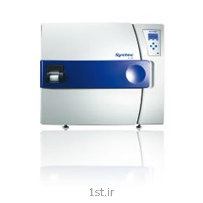 دستگاه اتوکلاو رومیزی آزمایشگاهی شرکت Systec آلمان مدلD series