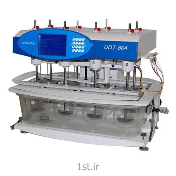 عکس تجهیزات تست کردن ( آزمایش )دستگاه تست انحلال قرص - Manual Dissolution Tester, UDT-814, Logan
