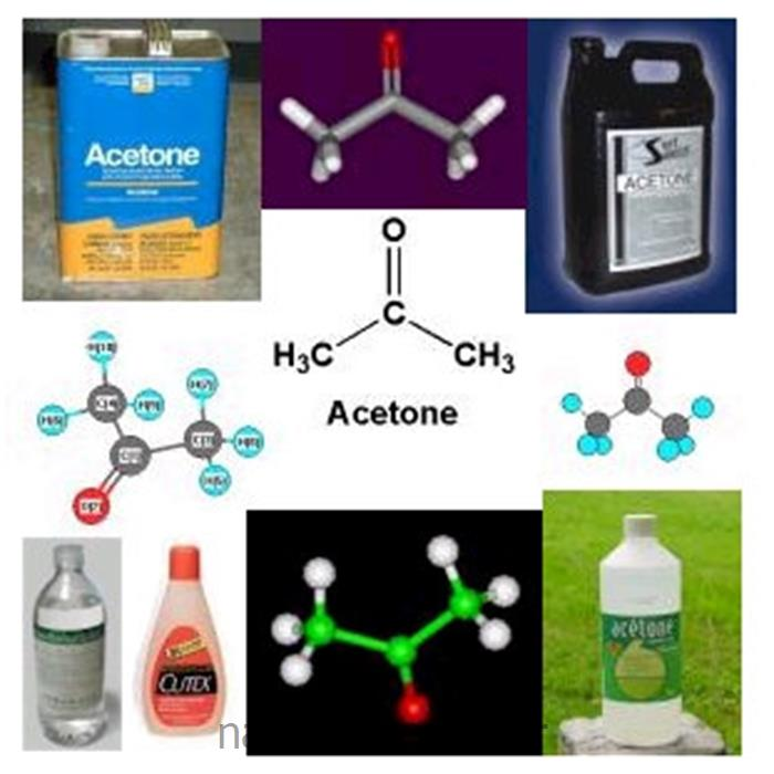 عکس سایر مواد شیمیایی آلیحلال استون (acetone)