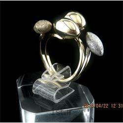 انگشتر نقره طرح هندسی رامینا 12-0215