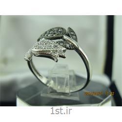 انگشتر نقره طرح هندسی رامینا72-0215
