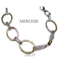 دستبند نقره طرح آی گل کد10-0112
