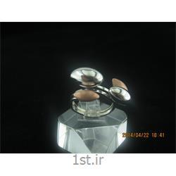انگشتر نقره طرح هندسی رامینا 31-0215