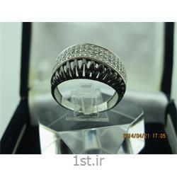 انگشتر نقره طرح هندسی رامینا 51-0215