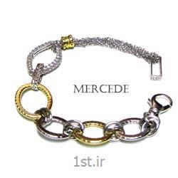 دستبند نقره طرح آیشین کد1-0113