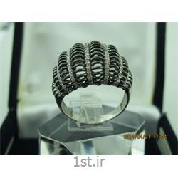 انگشتر نقره طرح هندسی رامینا76-0215