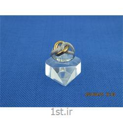 انگشتر نقره طرح هندسی رامینا 41-0215