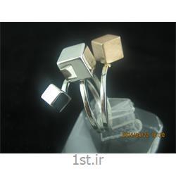 انگشتر نقره طرح هندسی رامینا 28-0215