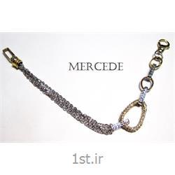 دستبند نقره طرح آینار کد 8-0114