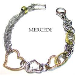 دستبند نقره طرح آینار کد4-0114