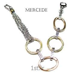 دستبند نقره طرح آی گل کد 9-0112