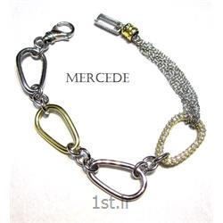 دستبند نقره طرح آی گل کد 6-0112