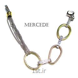 دستبند نقره طرح آی گل کد19-0112