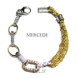 دستبند نقره طرح آیشین کد 6-0113