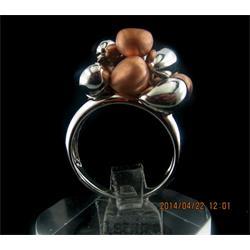 انگشتر نقره طرح هندسی رامینا 09-0215
