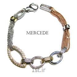 دستبند نقره طرح آی گل کد 5-0112